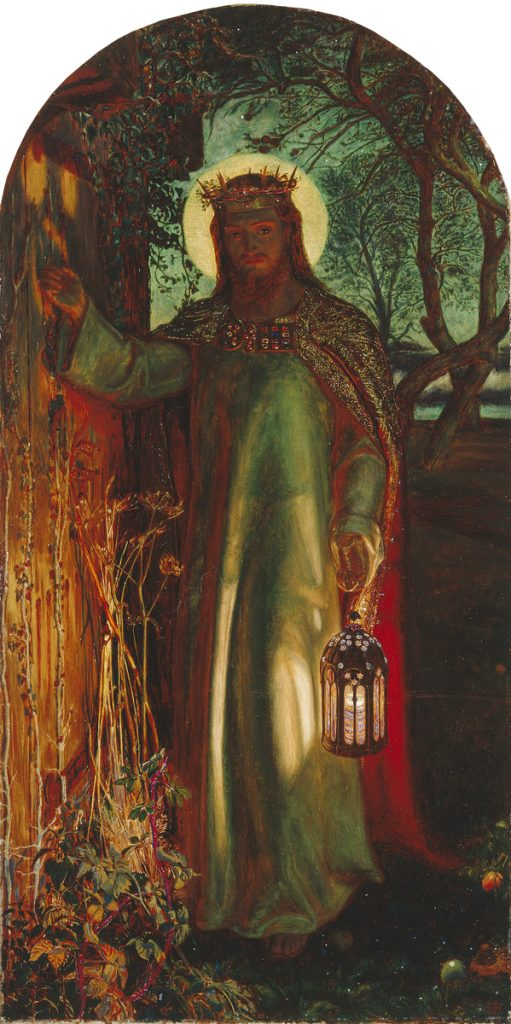 Holman Hunt, The Light of the World.