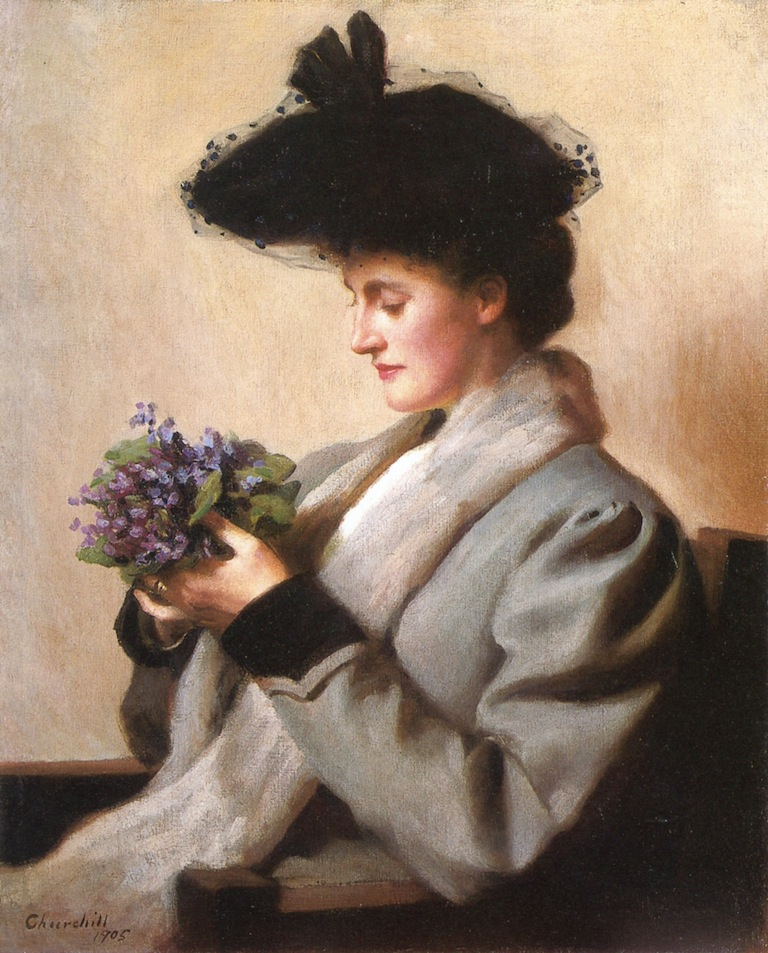 William Worchester Churchill - The Nosegay of Violets