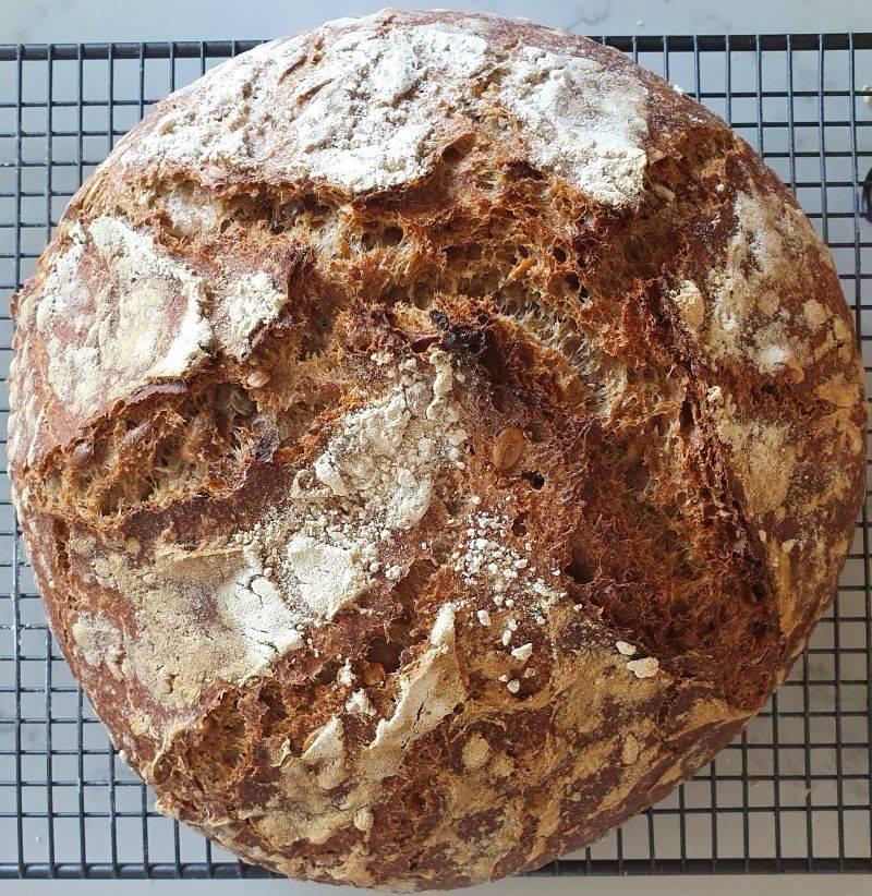 Rye bread,