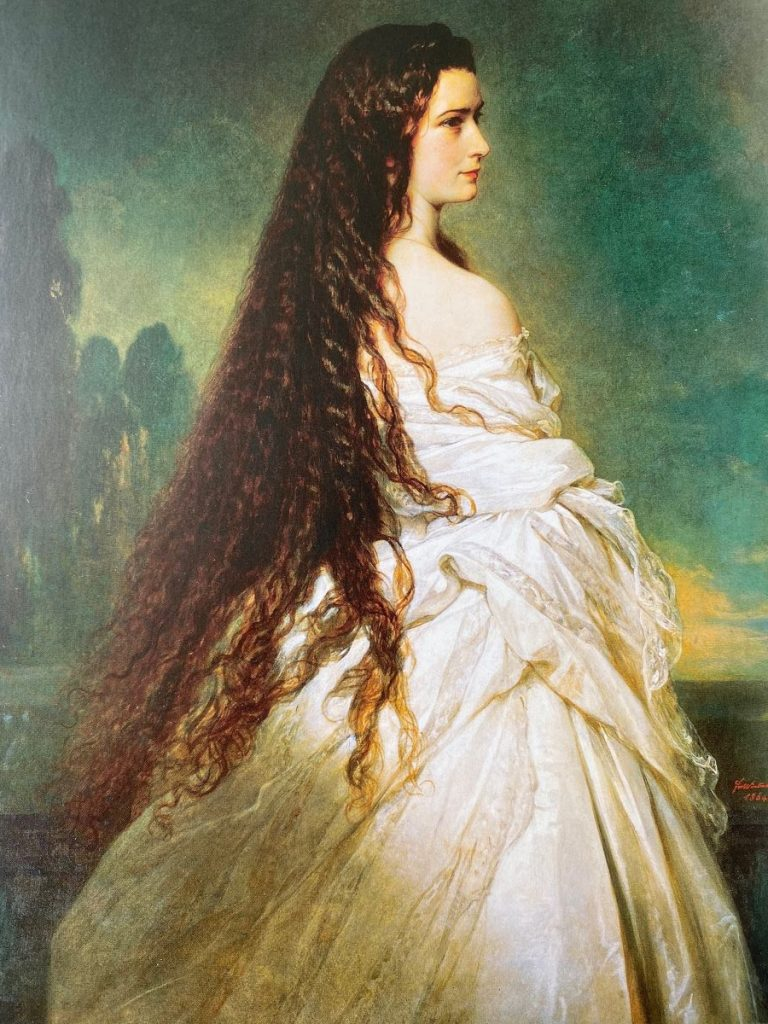Elisabeth, Empress of Austria - Natural Shampoo Alternatives: Now and in the Past